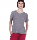 Body Action Ss20 Women Crunch V-Neck T-Shirt