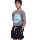 Body Action Παιδική Κοντομάνικη Μπλούζα Ss20 Boys Jaspe T-Shirt 054002