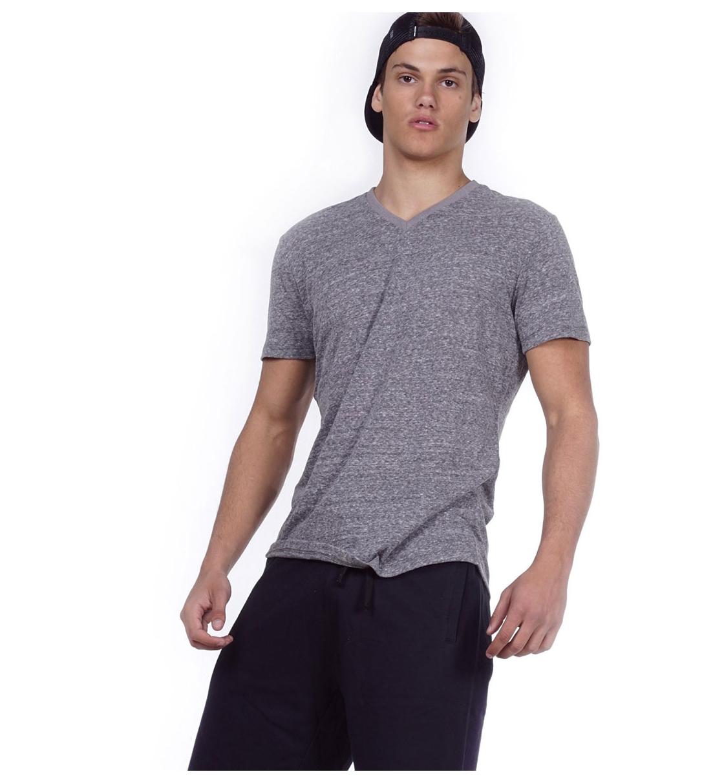 Body Action Ss20 Men V-Neck T-Shirt