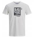 Jack & Jones Ανδρική Κοντομάνικη Μπλούζα Ss20 Jorpostcard Tee Ss Crew Neck 12172271