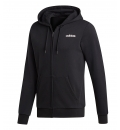 adidas Ανδρική Ζακέτα Με Κουκούλα Fw20 Essentials Linear Fullzip French Terry DQ3103