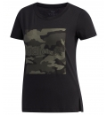 adidas Γυναικεία Κοντομάνικη Μπλούζα Ss20 Women Boxed Camo Graphic T-Shirt FM6161