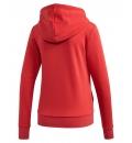 adidas Γυναικεία Ζακέτα Με Κουκούλα Ss20 Essentials Linear Full Zip Hoodie FM6483