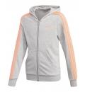 Adidas Fw20 Essentials 3S Full Zip Hoodie
