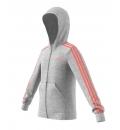 adidas Παιδική Ζακέτα Με Κουκούλα Fw20 Essentials 3S Full Zip Hoodie FM6988