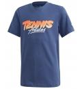 adidas Παιδική Κοντομάνικη Μπλούζα Ss20 Kids Tennis Graphic Tee FM9865