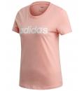 adidas Γυναικεία Κοντομάνικη Μπλούζα Ss20 Essentials Linear Slim Tee FM6423