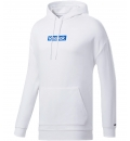 Reebok Ανδρικό Φούτερ Με Κουκούλα Ss20 Te Linear Logo Oth H FK6113