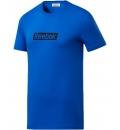Reebok Ανδρική Κοντομάνικη Μπλούζα Fw20 Te Linear Logo Ss Te FK6168