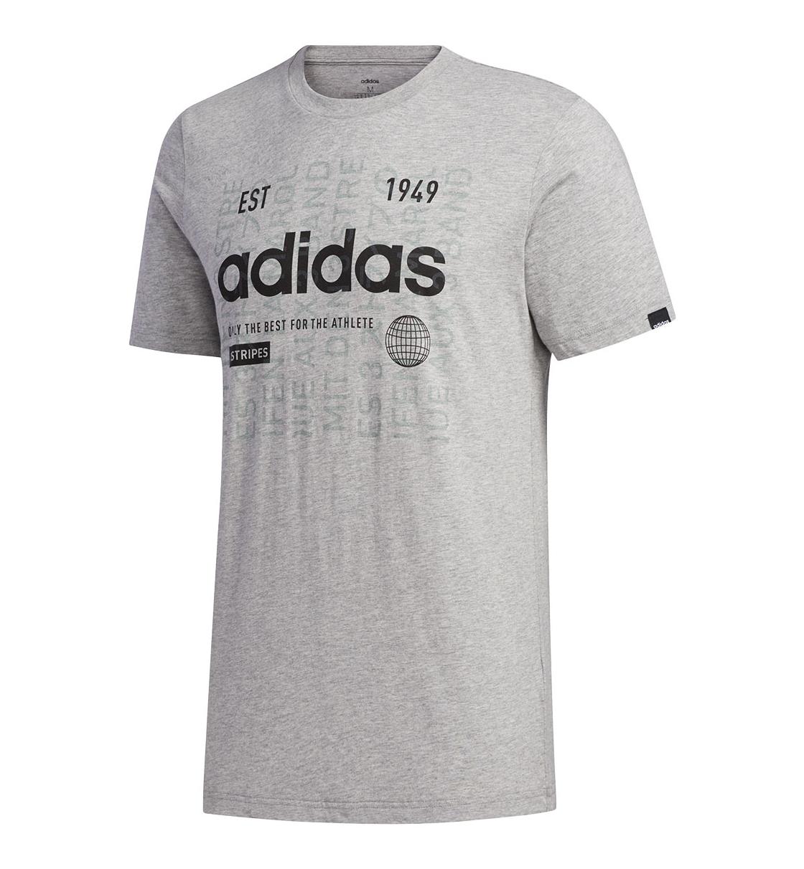 adidas Ανδρική Κοντομάνικη Μπλούζα Fw20 Mens Adi International T-Shirt FM6283