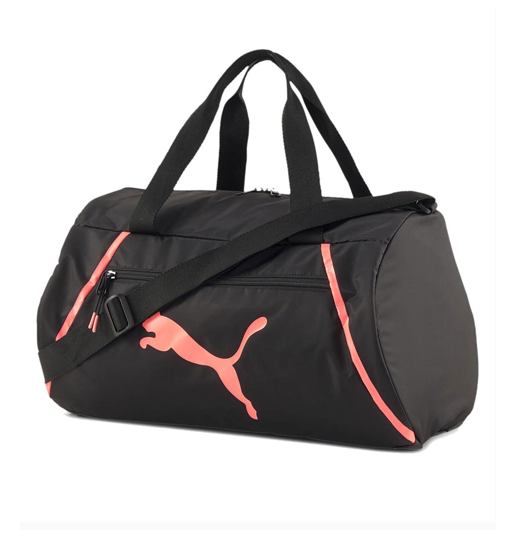 Puma Αθλητικός Σάκος Fw20 At Ess Barrel Bag Pearl 077854