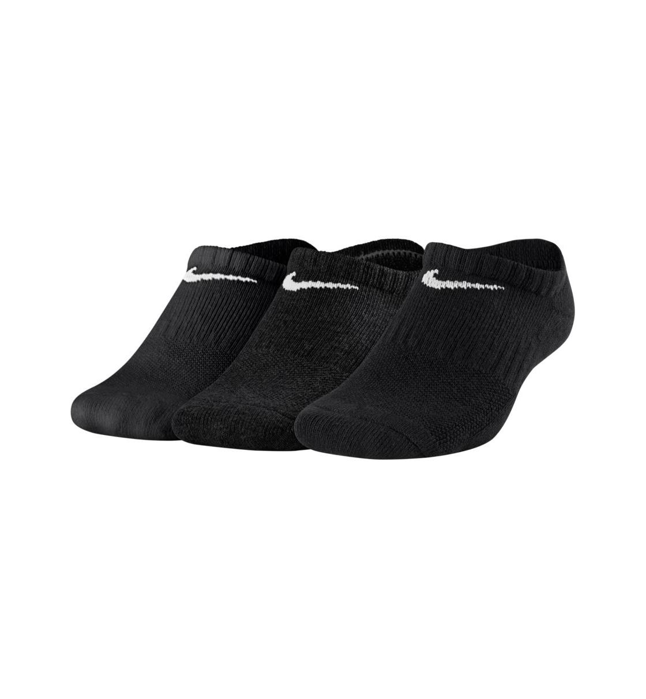 Nike Fw20 Kids' Performance Cushioned No-Show Training Socks (3 Pair)