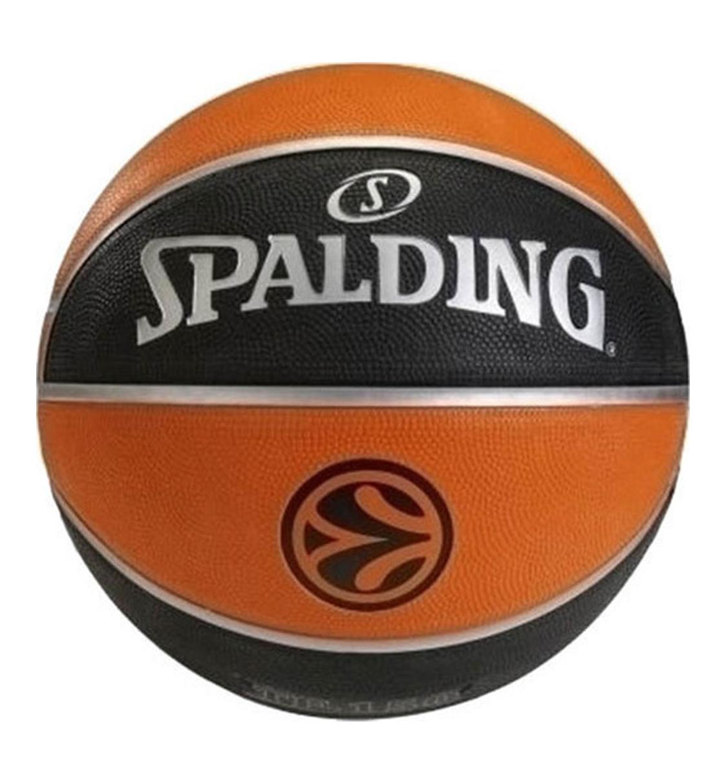 Spalding Μπάλα Basket Fw20 Tf-150 Euroleague Official Rubber Replica Bal 84-003Z1