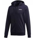 adidas Ανδρική Ζακέτα Με Κουκούλα Fw20 Essentials Linear Fullzip Fleece FI0834