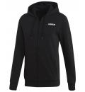 adidas Ανδρική Ζακέτα Με Κουκούλα Fw20 Essentials Linear Fullzip Fleece EI9821