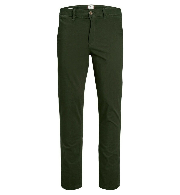 Jack & Jones Ανδρικό Υφασμάτινο Παντελόνι Fw20 Jjimarco Jjbowie Sa Forest Night Noos 12175972