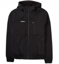 Emerson Fw20 Men'S Soft Shell Ribbed Jacket With Hood