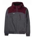Emerson Ανδρικό Αθλητικό Μπουφάν Fw20 Men'S Soft Shell Ribbed Jacket With Hood 202.EM11.127