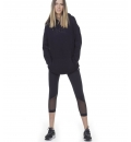 Body Action Γυναικείο Φούτερ Με Κουκούλα Fw20 Women Oversized Hoodie 061003