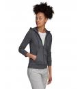 adidas Γυναικεία Ζακέτα Με Κουκούλα Fw20 Essentials Linear Full Zip Hoodie GD2965