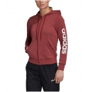 adidas Γυναικεία Ζακέτα Με Κουκούλα Fw20 Essentials Linear Full Zip Hoodie GD2966