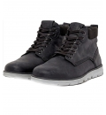 Jack & Jones Ανδρικό Παπούτσι Μόδας Fw20 Jfwtubar Leather Anthracite Sts 12159517