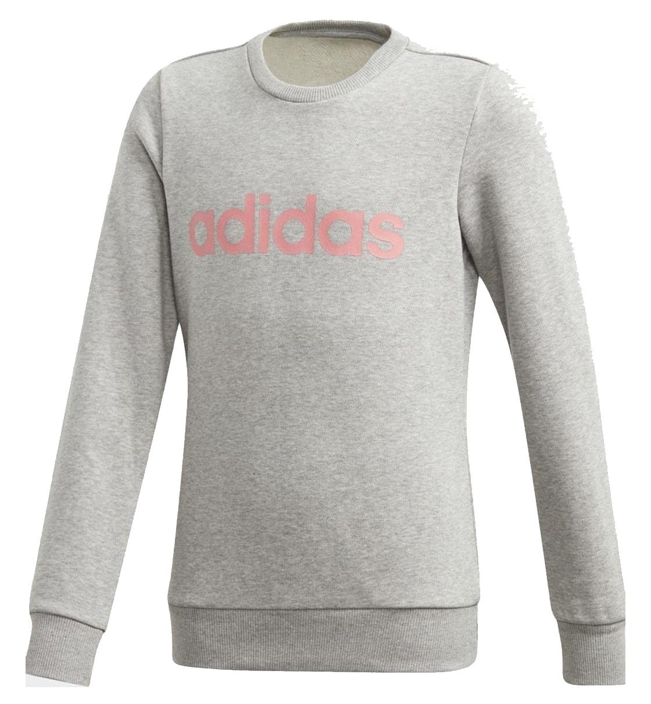 adidas Παιδικό Φούτερ Fw20 Youth Girls Linear Sweatshirt GD6350