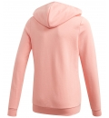 adidas Παιδική Ζακέτα Με Κουκούλα Fw20 Youth Girls Essentials Linear Full Zip Hoodie GD6354