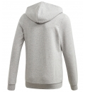 adidas Παιδική Ζακέτα Με Κουκούλα Fw20 Youth Girls Essentials Linear Full Zip Hoodie GD6356