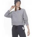 Body Action Γυναικείο Φούτερ Fw20 Women Oversized Training Top 061006