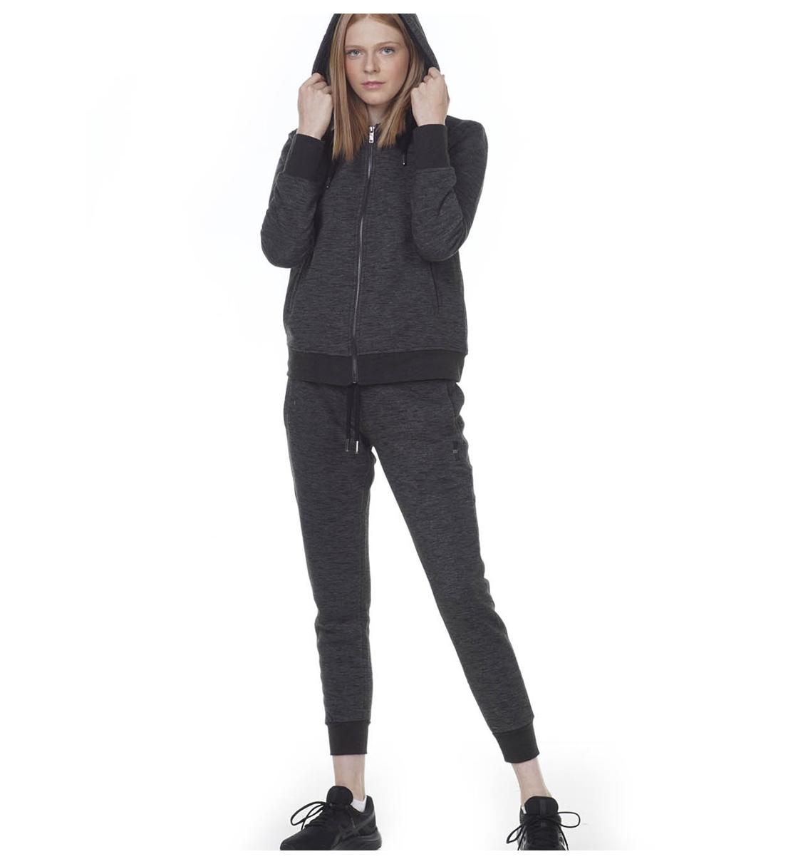 Body Action Γυναικεία Ζακέτα Με Κουκούλα Fw20 Women Fur Lined Hoodie 071004