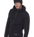 Body Action Ανδρική Ζακέτα Με Κουκούλα Fw20 Men Hooded Sweat Jacket 073005