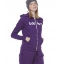 Body Action Fw20 Women Zip Hoodie
