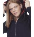 Body Action Γυναικεία Ζακέτα Με Κουκούλα Fw20 Women Fur Lined Long Hoodie 071010