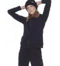 Body Action Γυναικεία Ζακέτα Με Κουκούλα Fw20 Women Fur Lined Hoodie 071013