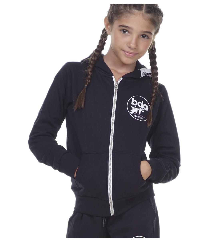 Body Action Παιδική Ζακέτα Με Κουκούλα Fw20 Girls Basic Zip Hoodie 072001
