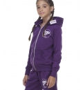 Body Action Fw20 Girls Basic Zip Hoodie