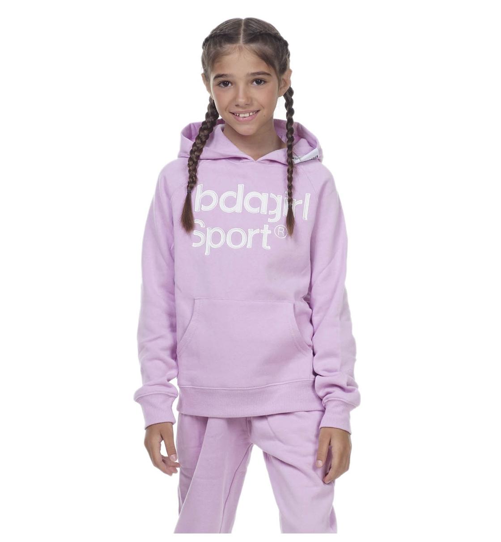 Body Action Παιδικό Φούτερ Με Κουκούλα Fw20 Girls Basic Hoodie 062001