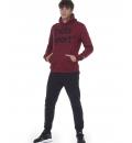 Body Action Ανδρικό Φούτερ Με Κουκούλα Fw20 Men Gym Hoodie 063004