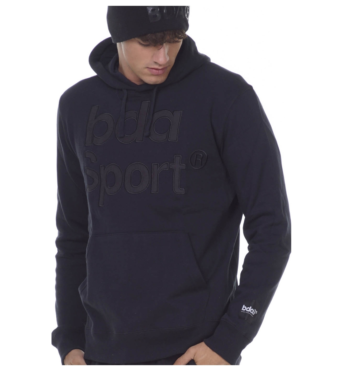 Body Action Fw20 Men Gym Hoodie