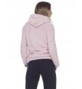 Body Action Γυναικεία Ζακέτα Fleece Fw20 Women Fluffy Fleece Hoodie Jacket 071009