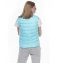 Body Action Γυναικείο Αθλητικό Μπουφάν Αμάνικο Fw20 Women Lightweight Puffer Vest 071011
