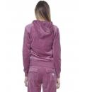 Body Action Γυναικεία Ζακέτα Με Κουκούλα Fw20 Women Velour Hoodie Jacket 071014