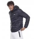 Body Action Ανδρικό Αθλητικό Μπουφάν Fw20 Men Padded Jacket With Hood 073012