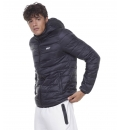 Body Action Fw20 Men Padded Jacket With Hood