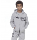 Body Action Fw20 Boys Full Zip Jacket