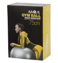 Amila Fw19 Μπάλα Γυμναστικής 75Cm 1800Gr - Πράσινη - Σε Κουτί Με Τρόμπα