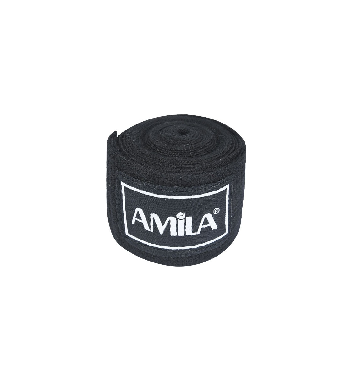 Amila Μπαντάζ Πυγμαχίας Fw19 Μπαντάζ Πυγμαχίας Ελαστικό 3M - Μαύρο 32041