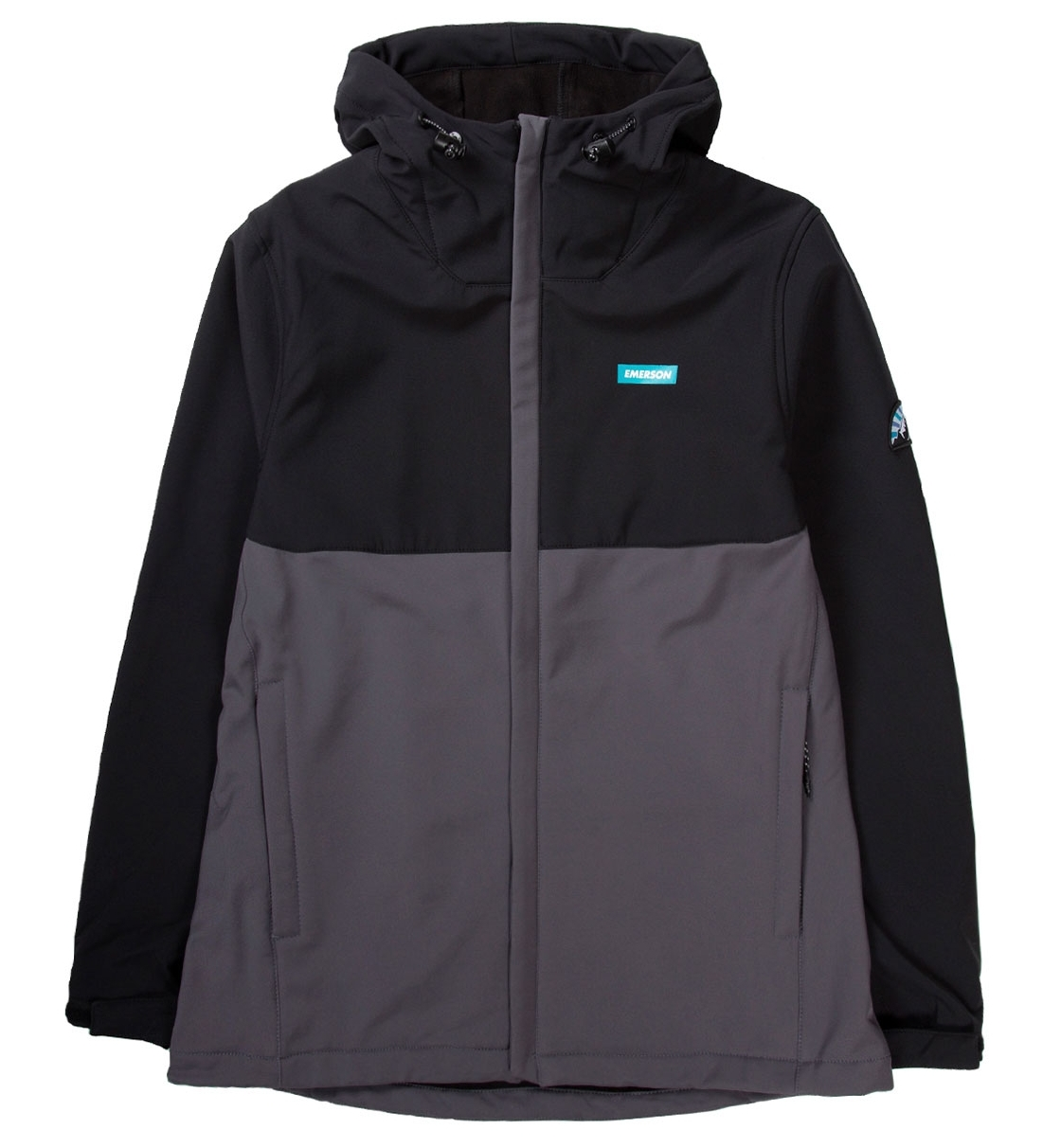 Emerson Fw19 Men'S Soft Shell Jacket With Hood