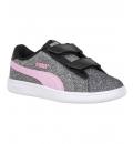 Puma Παιδικό Παπούτσι Μόδας Fw18 Smash V2 Glitz Glam V Ps 367378